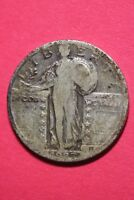 1927 D STANDING LIBERTY QUARTER EXACT COIN PICTURED FLAT RATE SHIPPING OCE 786