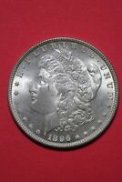 1896 P UNCIRCULATED VAM 1B PITTED REVERSE MORGAN SILVER DOLLAR FREE SHIP OCE 031