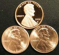2020 P&D&S LINCOLN SHIELD CENT PROOF AND UNCIRCULATED PENNY SET  PDS