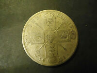 1921 ENGLISH ONE FLORIN COIN     .500 SILVER       S&H   C/S