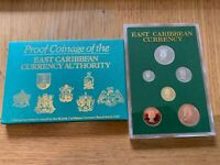 EAST CARIBBEAN STATES 1965 PROOF COIN SET BY ROYAL MINT 1 50
