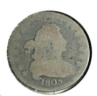 1805 DRAPED BUST DIME G