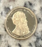2011-S PROOF OUR 19TH PRESIDENT RUTHERFORD B HAYES PRESIDENTIAL DOLLAR