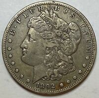 1892 S MORGAN SILVER DOLLAR BETTER DATE