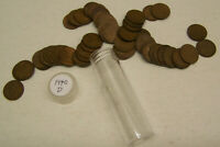 1940 D LINCOLN WHEAT CENTS -  1 CIRCULATED ROLL