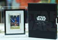2017 NIUE STAR WARS RETURN OF THE JEDI 1 OZ PROOF W/ BOX & COA   NEW