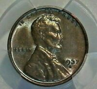 UNITED STATES ENCAPSULATED 1937-D PCGS MINT STATE 63BN WHEATBACK CENT
