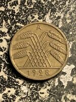 1928 A GERMANY 10 PFENNIG LOTQ9490