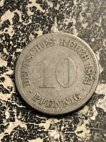 1874 E GERMANY 10 PFENNIG LOTQ9513