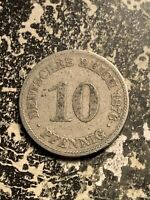 1876 E GERMANY 10 PFENNIG LOTQ9524