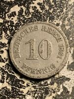 1891 A GERMANY 10 PFENNIG LOTQ9541