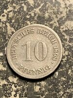1898 D GERMANY 10 PFENNIG LOTQ9553