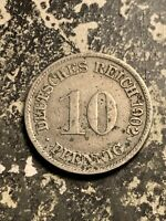 1902 G GERMANY 10 PFENNIG LOTQ9567
