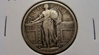 1917 TY1 & 1918 STANDING LIBERTY QUARTERS  FINE