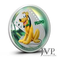 NIUE 2014 $2 DISNEY MICKEY & FRIENDS   PLUTO 1 OZ SILBERMNZE