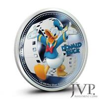NIUE 2014 $2 DISNEY MICKEY & FRIENDS   DONALD DUCK 1 OZ SILB