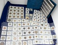 160 COINS ASSORTED WORLD COINS PERSONAL COLLECTION ITALY JAP