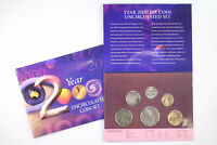 2000 ROYAL AUSTRALIAN MINT MILLENNIUM YEAR 6 COIN MINT SET D