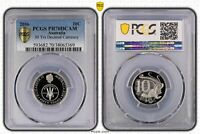 2016 AUS 10C PROOF 50 YRS DECIMAL CURRENCY PCGS   PR70DCAM P