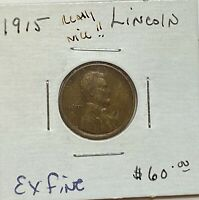 1915 LINCOLN CENT WHEAT CENT 1C