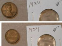 LINCOLN  CENTS--1924-1926-1928-1929S-1932-1933.FINE--EXTRA FINE A..6 PIECES