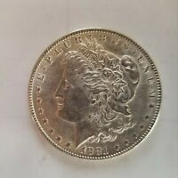 1881 P MORGAN SILVER DOLLAR  - AU