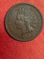 1903 INDIAN HEAD CENT FULL LIBERTY WITH SOME DIAMONDS