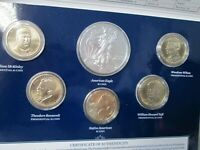 2013 US MINT ANNUAL UNCIRCULATED 6 COIN DOLLAR SET