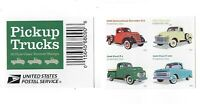 MINT USPS FOREVER STAMPS. CLASSIC PICKUP TRUCKS. 2016. BLOCK OF 4