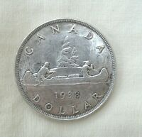 1938 CANADIAN SILVER DOLLAR