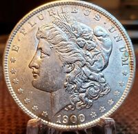1900 P MORGAN SILVER DOLLAR  PQ UNCIRCULATED  MS