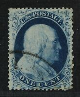 CKSTAMPS: US STAMPS COLLECTION SCOTT22 1C FRANKLIN USED