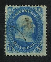 CKSTAMPS: US STAMPS COLLECTION SCOTT86A 1C FRANKLIN USED