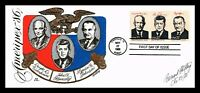 DR JIM STAMPS US EISENHOWER KENNEDY JOHNSON PRESIDENTS FDC U