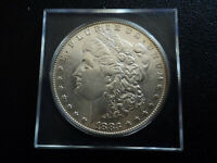 1883S MORGAN $1.00 DOLLAR 90 SILVER COIN AU CONDITION MUCH BETTER DATE