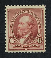 CKSTAMPS: US STAMPS COLLECTION SCOTT224 6C GARFIELD MINT NH
