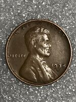 1938D LINCOLN WHEAT CENT- 20,010,000 MINTED COLLECTIBLE COIN-COMPLETE YOUR SET