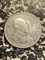 1907 SWEDEN 2 KRONOR LOTZ2361 SILVER  KM776 OLD CLEANING