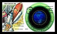 DR JIM STAMPS US SPACE HIGH VALUE HAND COLORED COLLINS UNSEA