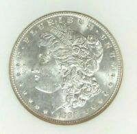 1888 MORGAN SILVER DOLLAR  OLD NGC MINT STATE 64 BEAUTIFUL CERTIFIED COIN REF32-010