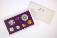 1977 ROYAL AUSTRALIAN MINT 6 COIN PROOF JUBLIEE SET   WITH F