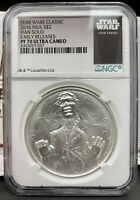 2016 NIUE $2 STAR WARS HAN SOLO PROOF 1 OZ .999 SILVER COIN   NGC PF 70 UCAM