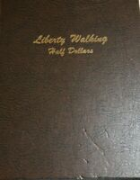 DANSCO 1916 1947 WALKING LIBERTY HALF DOLLAR ALBUM
