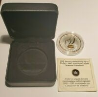 ROYAL CANADIAN MINT MONTREAL CANADIENS SILVER $1 COIN 2009 1