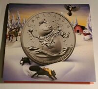 ROYAL CANADIAN MINT 2014 SNOWMAN CHRISTMAS $20 FINE SILVER C