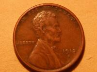 1912 S LINCOLN WHEAT EAR CENT PENNY.XF
