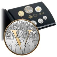 CANADIAN MINT2020 PURE SILVER PROOF SET   75TH ANNIVERSARY O
