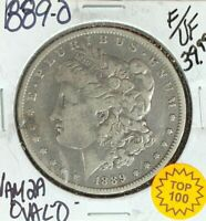 1889-O MORGAN SILVER DOLLAR  F/VF  VAM 2A OVAL