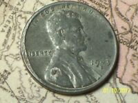 1943-S  @   LINCOLN WHEAT STEEL PENNY FROM OLD ROLL