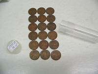 1933 D LINCOLN WHEAT CENTS - GOOD - 18 COIN LOT - CIRCULATED